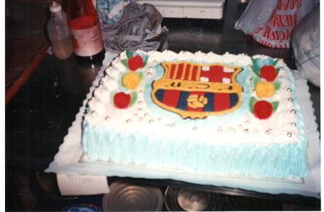 Tarta de cumpleaños