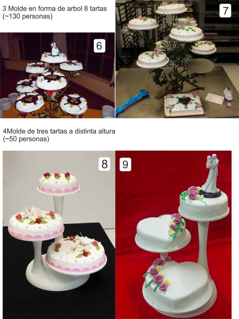 Modelos de Tarta de Bodas